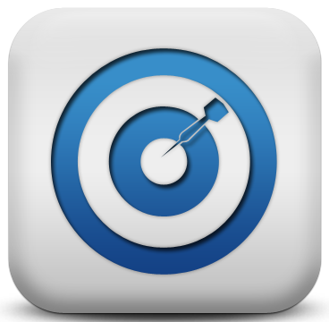 118200-matte-blue-and-white-square-icon-sports-hobbies-target2-sc43